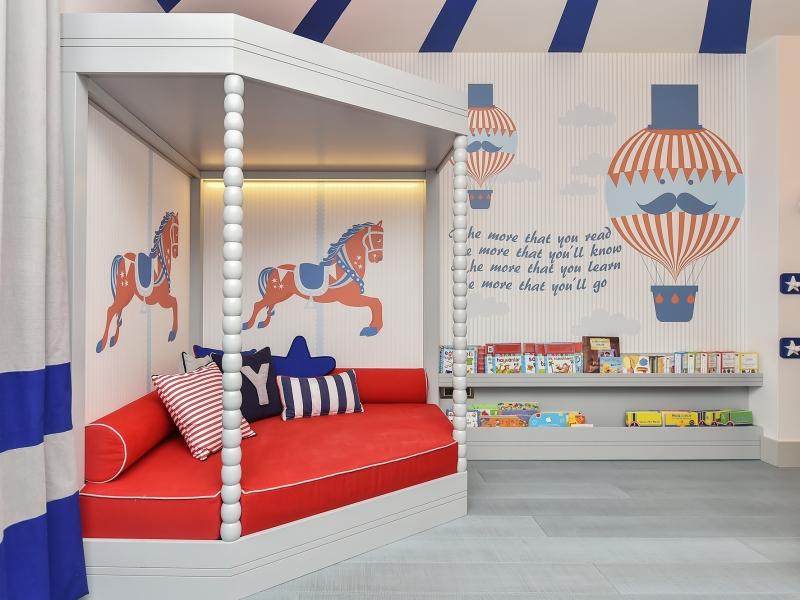 6-Crocodily-atlı karıncalı,balonlu tasarım çocuk duvar kağıdı-çocuk oyun odası