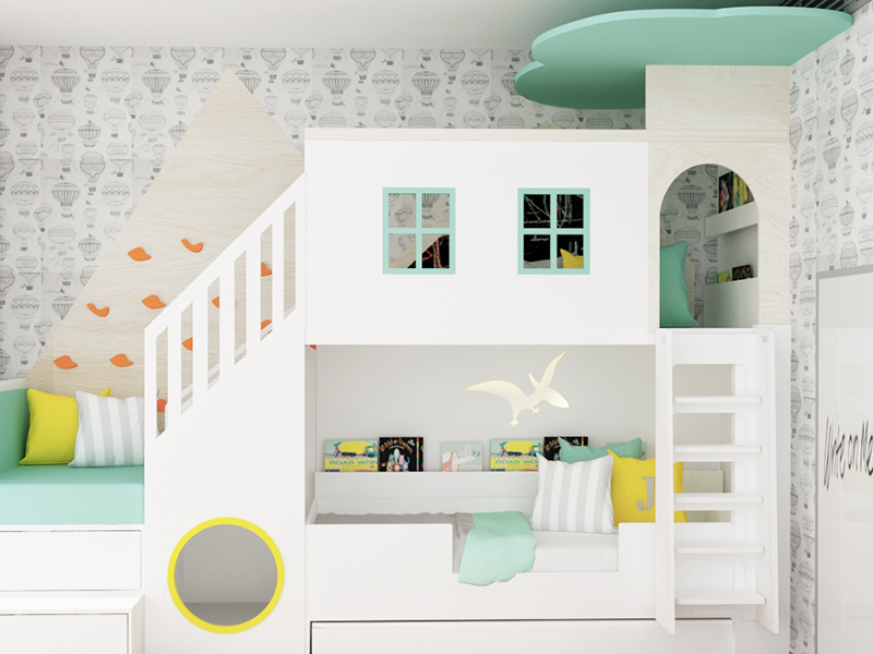 Kid's Room and Playroom Projects