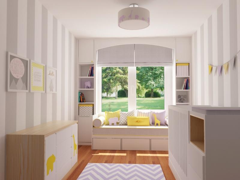1-Crocodily-Lila,sarı,gri özel tasarım bebek odası,bebek yatağı,altaçma ünitesi,oturma köşesi