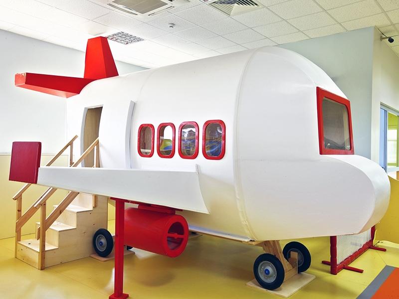 1.Crocodily-Küçükçekmece Belediye Anaokulu-Uçak Oyun Alanı