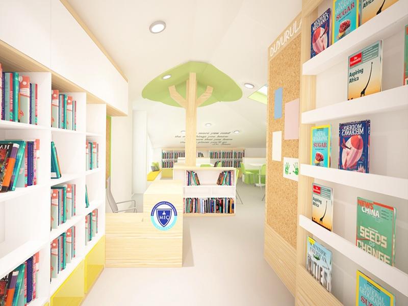 10.Crocodily-Bümed Meç Okulları İstinye Yerleşkesi Kütüphanesi