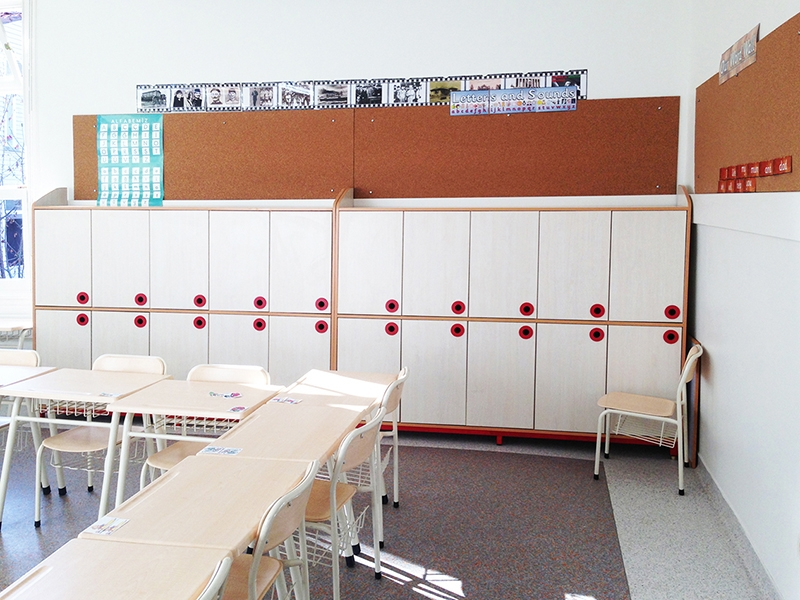 12.Crocodily-Bümed Meç Okulları Öğrenci Dolapları ve Sıralar