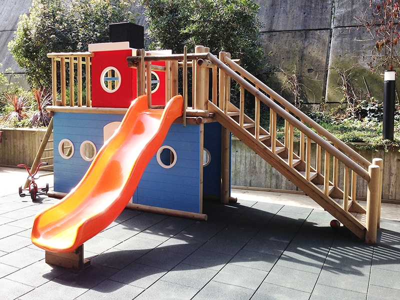 12.Crocodily-İz Çocuk Gelişim Merkezi Bahçe Oyun Alanı