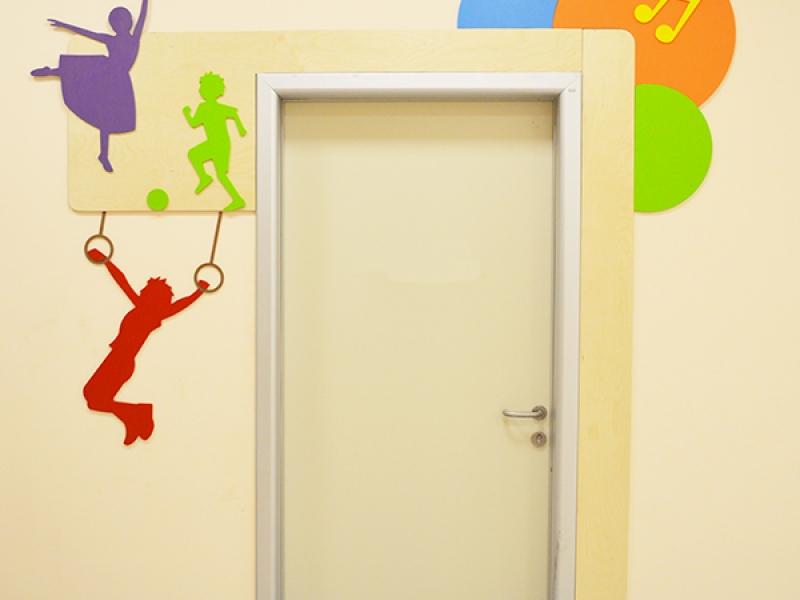 12.Crocodily-Mef Anaokulu Çok Amaçlı salon Kapısı