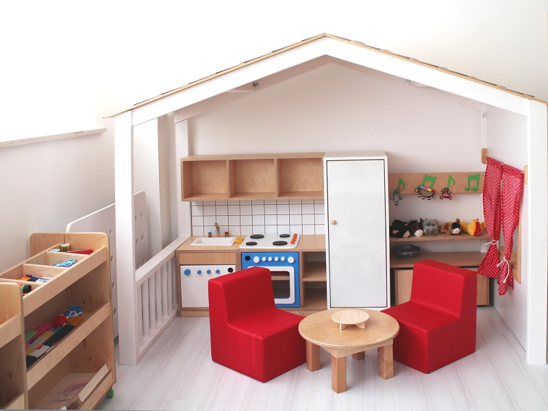 2-Crocodily-Anaokulu Sınıfı Oyun Evi Tasarımı-Müzik Köşesi