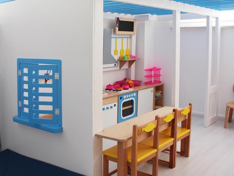 6-Crocodily-Anaokulu Sınıfı Oyun Evi Tasarımı-Mutfak