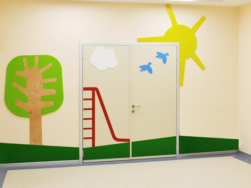 6.Crocodily-Mef Anaokulu Bahçe Kapısı Ahşap Figür Tasarımı